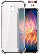 Jkobi Silicon Flexible Shockproof Corner TPU Back Case Cover for Xiaomi Mi Redmi 8A -Transparent