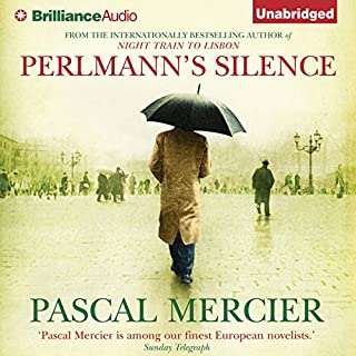 Perlmann's Silence audiobook cover art