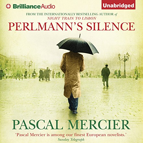 Perlmann's Silence audiobook cover art