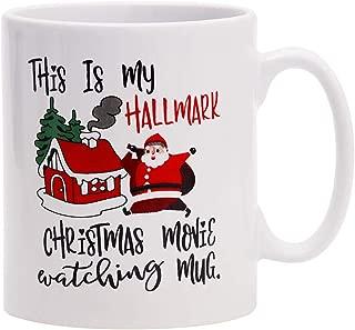 Coffee Mug This Is My Hallmark Christmas Movie Watching Mug Tea Cup Ceramic Coffee Mug for Christmas Gift Brithday Gift or Daily Use