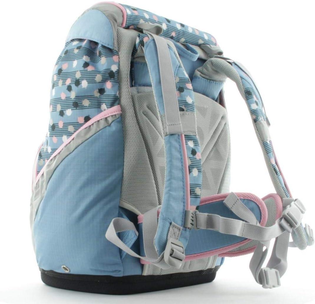 Game Time Samsonite Sammies Ergofit Blue School Bag Set 6 Pieces