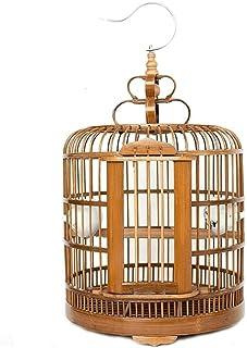 بيت الطيور/قفص العش طيور الكناري قفص مستلزمات الحيوانات الأليفة الإبداعية قطرها 33 سم صندوق العش بيت الطيور