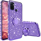 Compatibile con Cover Oppo A53s/ A53 2020, Glitter Lusso Strass Diamante Bling Diamanti Cu...