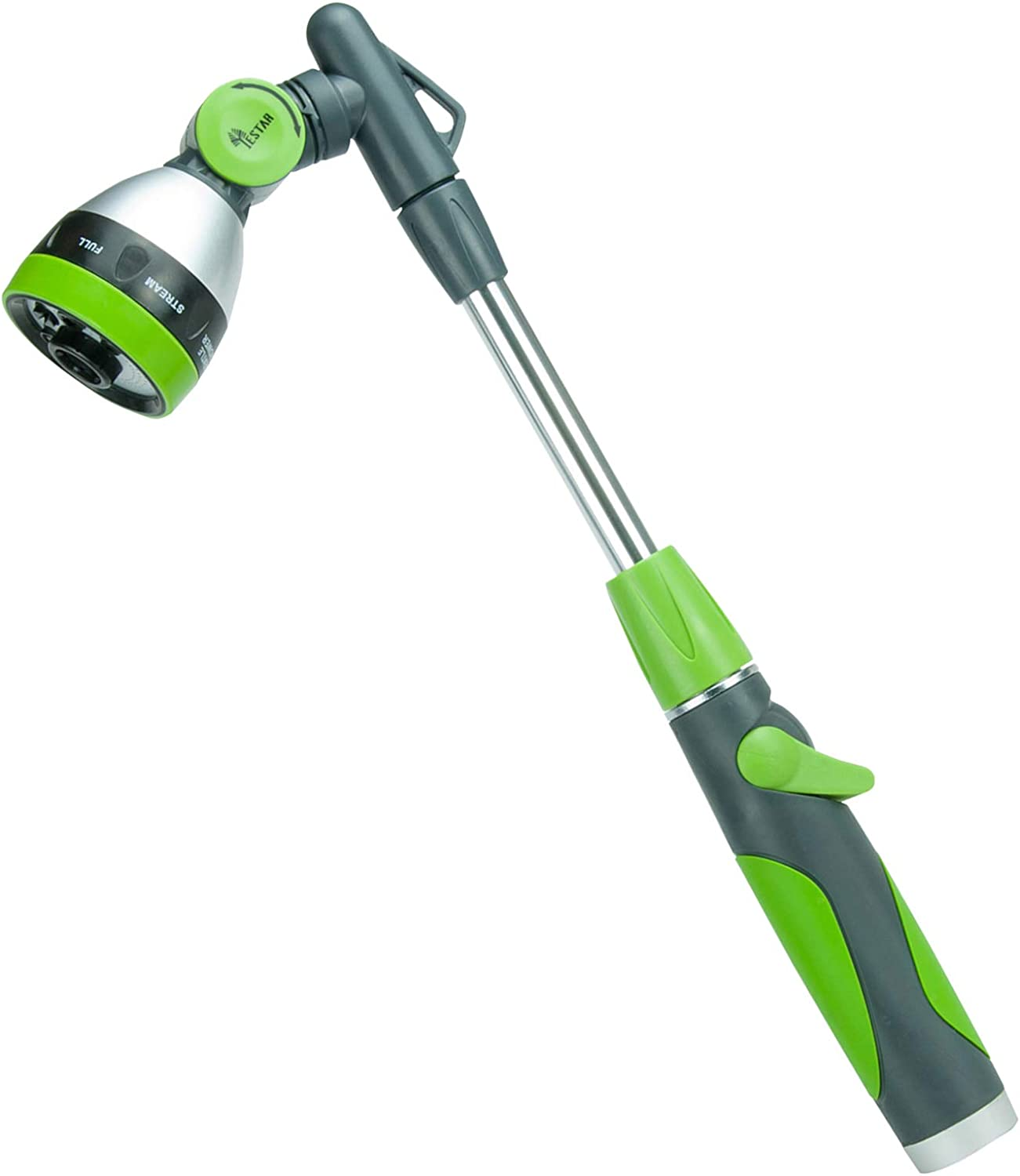 YESTAR 19 Inches Watering gift Wand Louisville-Jefferson County Mall Head 180° Water Rotating