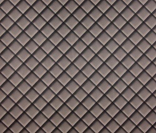 Hollandse Wallcoverings 7269-2 Lederen Behang - Brown-P Vormen en strepen BRON
