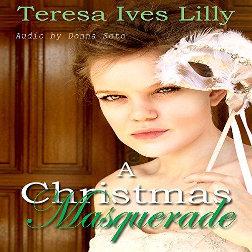A Christmas Masquerade audiobook cover art