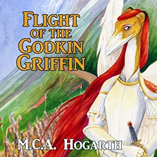 Flight of the Godkin Griffin audiobook cover art