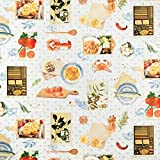 Fabulous Fabrics Halbpanama taubenblau, Café & Küche,