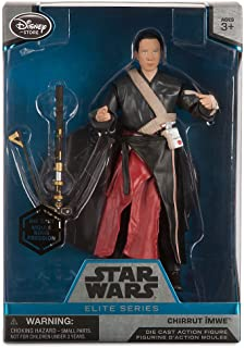 Star Wars Chirrut Imwe Elite Series Die Cast Action Figure - 6 1/2 Inch - Rogue One: A Story