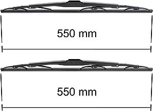 Kit de pare-brise 600 mm // 530 mm conducteur + passager - 5902538917407 Balais dessuie-glaces
