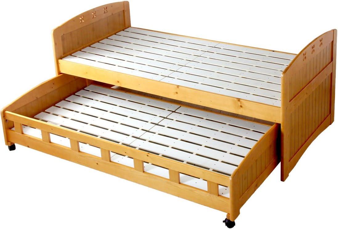 タンスのゲン 親子ベッド シングル