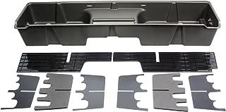 DU-HA Under Seat Storage Fits 99-07 Chevrolet/GMC Silverado/Sierra Extended Cab, Dk Gray, Part #10001