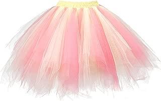 Ellames Damen Jahrgang 1950 Tutu Petticoat Ballett Blase Tanzrock