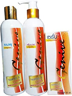 Genive Shampoo & Conditioner and serum set   Sulfate Free Shampoo