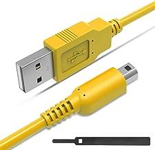 [Pacote com 2] Cabo carregador USB de 1,8 m para 3DS compatível com Nintendo New 3DS XL/New 3DS/ 3DS XL/ 3DS/ Novo 2DS XL/...