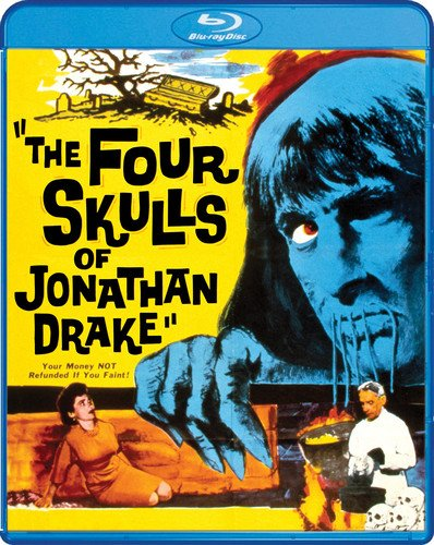 The Four Skulls Of Jonathan Drake [Blu-ray] -  Edward L. Cahn, Grant Richards