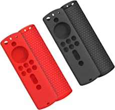 Remote Case is Compatible with Fire TV Stick 4k/Fire TV Cube/Fire TV 3rd Gen, findTop Silicone Case/Holder for New Alexa V...