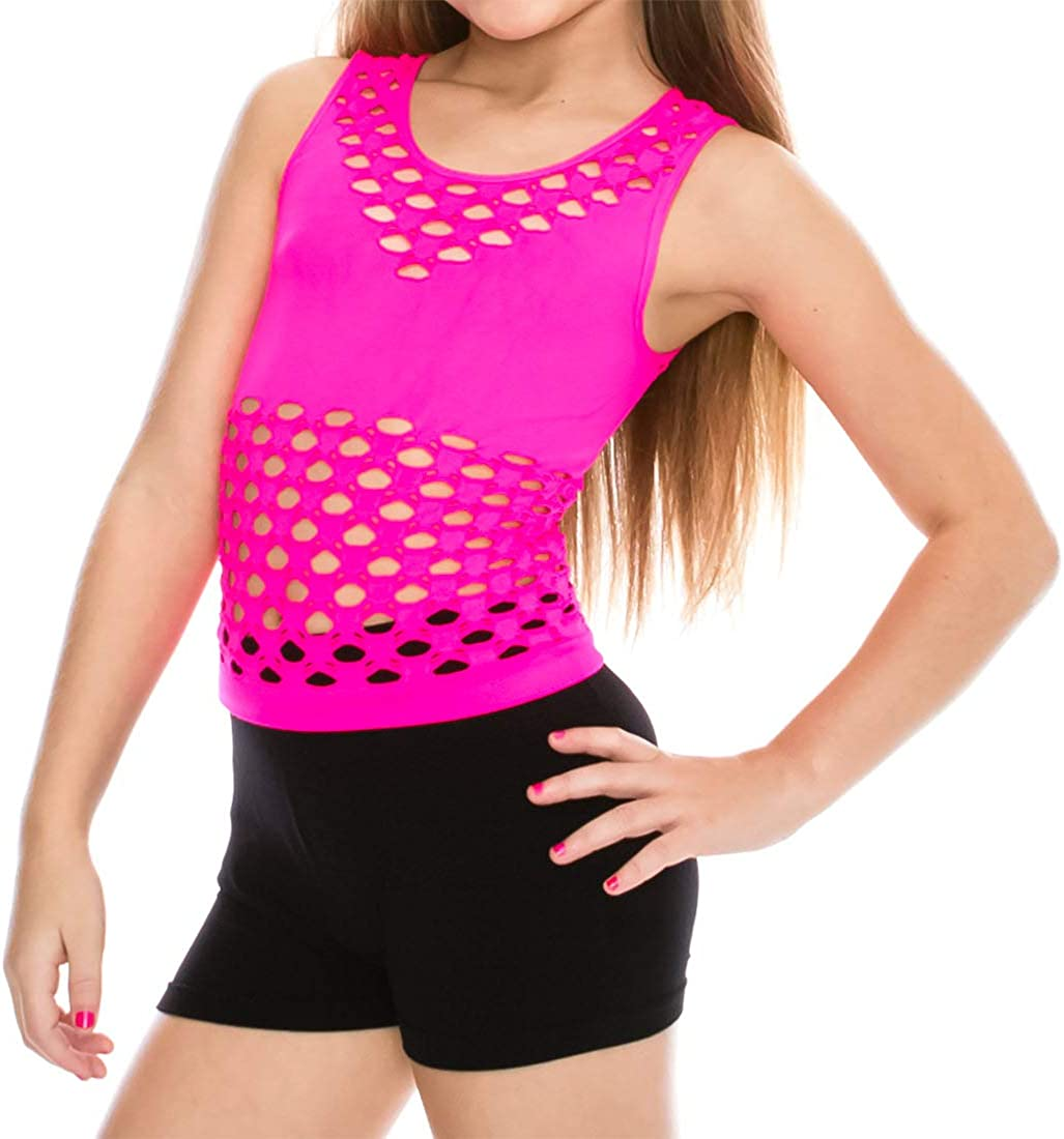 Made in USA Kurve Kids 2-Piece Dance Outfit