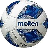 molten(モルテン) サッカーボール 一般・大学・高校・中学校用 5号球 国際公認球 検定球 ヴァンタッジオ5000 ホワイト×ブルー F5A5000