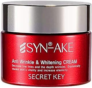 Secret Key SYN-AKE Anti Wrinkle and Whitening Cream, 50g