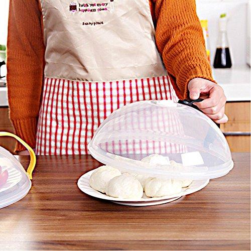 Generic Honana CF-BC23 Multipurpose Seal Stack Bowl Cover Microwave Refrigerators PP Keep Fresh Plate Cover