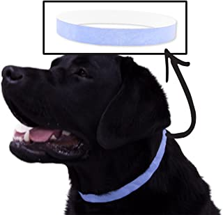 WristCo Safe-T Collar Vet Bands 500 Ct. ID Veterinary Bands for Animals