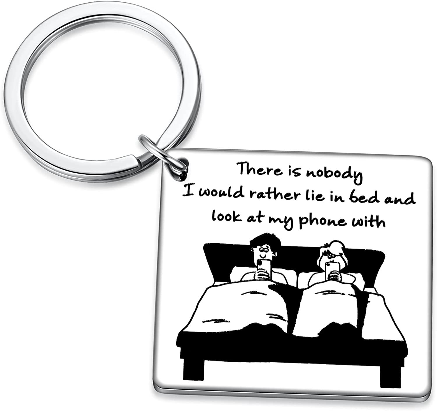 Funny Naughty Wife Husband Hubby Birthday Gift Couples Parent Mom to Dad Anniversary Valentines Day Keychain
