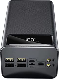 Externt batteri 50000mAh Stor kapacitet Bärbar laddare Power Bank Fast Load 4 USB-portar och 3 Power Banks Externa ingånga...