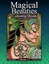 Magical Beauties Coloring Book: Book 2 (Volume 2)