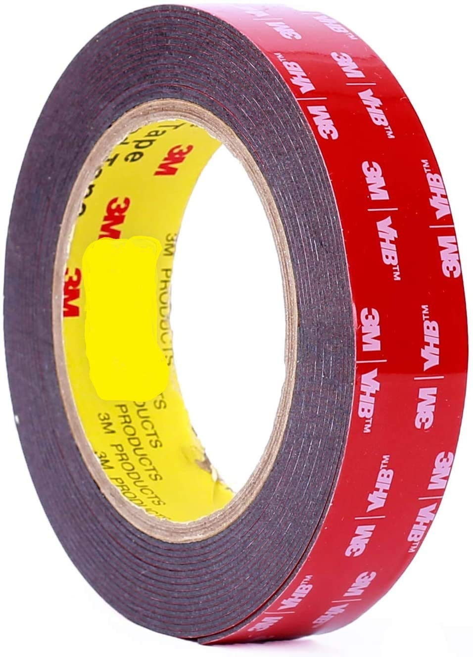 50 Pieces Super Strong Double-Sided Foam Tape Automotive Mounting Tape DIY