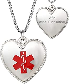 heart disease necklace