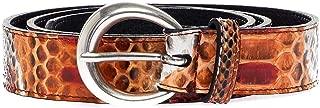 Luxury Fashion | Orciani Womens D10012NAPONOSARANCIO Orange Belt |