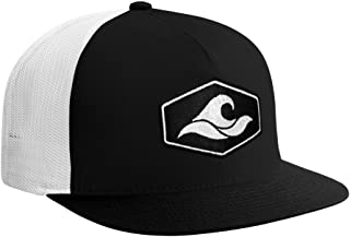 Koloa Surf Hexagon Patch Logo MESH Snapback Hats