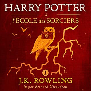Harry Potter à l'École des Sorciers audiobook cover art