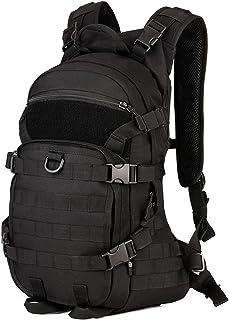 Selighting Taktisk militärryggsäck 25 L cykelryggsäck med hjälmskydd vattentät MOLLE överfallspaket för vandring resor van...