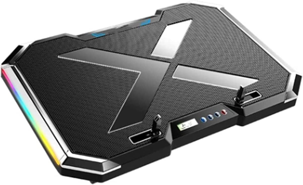 ELXSZJ XTZJ RGB Laptop Cooling Cool Screen Pad LED Gaming Be super welcome Outstanding