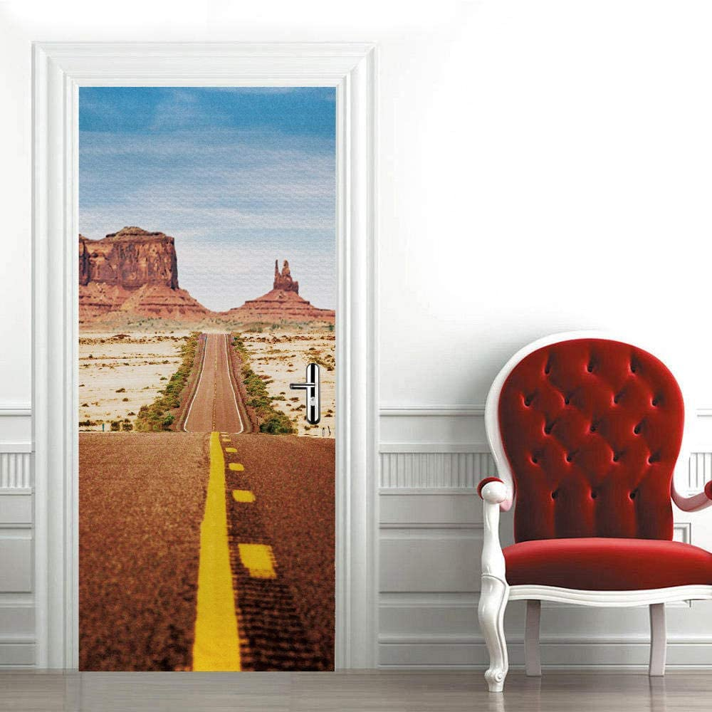 DIY Door Wall Outlet sale feature Safety and trust Stickers Murals Int Desert for 34.6