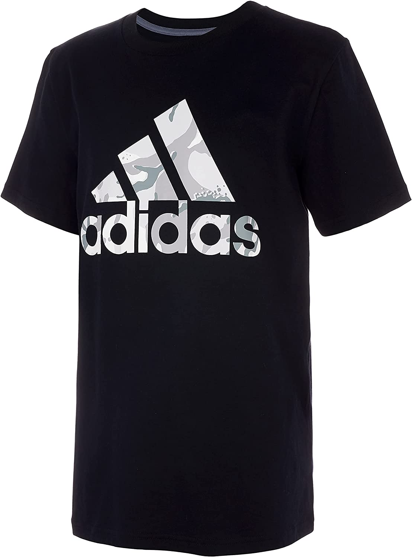 adidas boys Action Camo T-shirt
