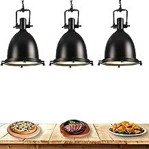 SCJ Chauffe-Plats pour Restaurant Buffet, Lustre de Cuisine pour Garder Les Aliments au Chaud, Lampe chauffante Commercial...