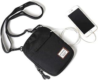 Small/Mini Over The Shoulder Bag Travel Passport for Men, Crossbody Bags for Women & Men, Small Messenger Travel Wallet