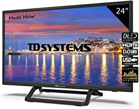 Televisor Led 24 Pulgadas HD, TD Systems K24DLX9H. Resolución 1366 x 768, HDMI, VGA, USB Reproductor y Grabador.