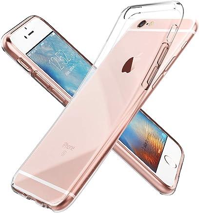 Spigen Coque iPhone 6s, Coque iPhone 6 [Liquid Crystal] TPU Silicone [ Transparent Souple Discret ] Coque Housse Etui Compatible avec iPhone 6 / 6s