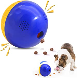 Interactive Dog Toys, Wobble Giggle Ball Dog Toy 4.7