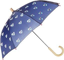 Striped Hearts Umbrella
