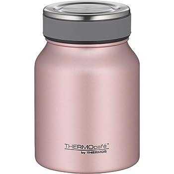 ThermoCafé by THERMOS Thermobehälter für Essen, Edelstahl Rosé Gold 500ml - Isolier-Speisegefäß für Suppe oder Müsli, dicht, spülmaschinenfest, 9 Stunden heiß, 14 Stunden kalt, BPA-Free - 4077.284.050
