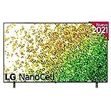 LG NanoCell 75NANO85-ALEXA 2021-Smart TV 4K UHD 189 cm (75') con Inteligencia Artificial, Procesador Inteligente α7 Gen4, Deep Learning, 100% HDR, Dolby ATMOS, HDMI 2.1, USB 2.0, Bluetooth 5.0, WiFi