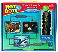 Educational Insights Hot Dots Jr. Ultimate Science Facts Storybooks, 3 Non-Fiction Books & Interactive Pen, Homeschool Lea...