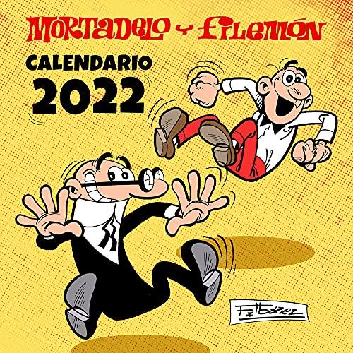 Calendario Mortadelo y Filemón 2022 (Bruguera Clásica)