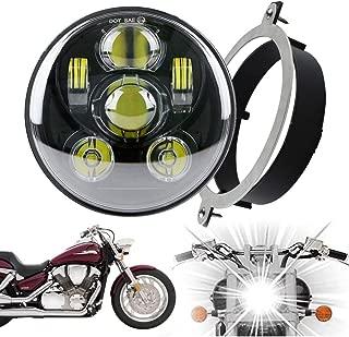 Luckmart Smoke Lens Integrated Motorcycle LED Taillight for VTX 1300 2002-2008 VTX 1800//1800T 2002-2008