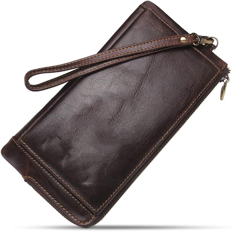 BJFYG Brieftasche Männer   Brieftasche Mann Mit Handy Organisator Handtasche Lange Münze Geldbörse B07LG38TSZ